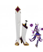 League of Legends LOL Star Guardian Syndra Cosplay Shoes Women Boots
