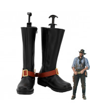 Red Dead Redemption II 2 Arthur Morgan Cosplay Shoes Men Boots