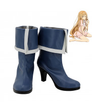 Sword Art Online Asuna Yuuki High Heel Cosplay Shoes Women Boots