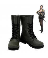 Metal Gear Solid V The Phantom Pain Quiet Cosplay Shoes Women Boots