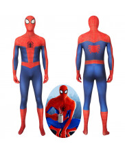 Spider-Man Into the Spider-Verse Peter Parker Jumpsuit Cosplay Costume 3D Printed
