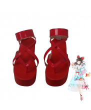 Touhou Project Toho Summer Hakurei Reimu Cosplay Shoes Women Boots Version 1