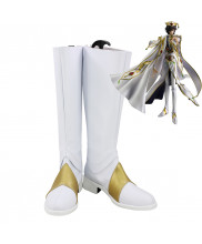 CODE GEASS Lelouch of the Rebellion R2 The Emperor Lelouch Lamperouge Cosplay Shoes Men Boots