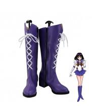 Sailor Moon Tenoh Haruka Sailor Saturn Cosplay Shoes Women Boots