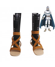 Black Clover Noell Silva Cosplay Shoes Women Boots Eagle Version