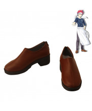 Food Wars Shokugeki no Soma Yukihira Soma Cosplay Shoes Men Boots