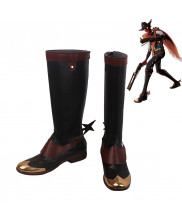 League of Legends LOL Khada Jhin High Noon Jhin Skin Cosplay Shoes Men Boots