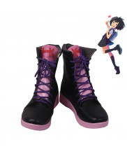 Spider-Man Into the Spider Verse Peni Parker Cosplay Shoes Women Boots