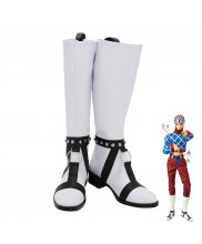 JoJo's Bizarre Adventure 5 Guido Mista Cosplay Shoes Men Boots