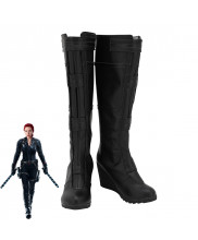 Avengers Endgame Black Widow Natalia Romanova Cosplay Shoes Women Boots Version 1