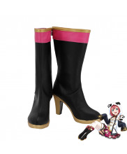 LoveLive Sunshine Aqours Kurosawa Ruby Cheongsam Version Cosplay Shoes Women Boots