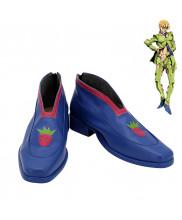 JoJo's Bizarre Adventure Golden Wind Pannacotta Fugo Cosplay Shoes Men Boots Ver 1