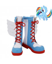 My Little Pony Equestria Girls Rainbow Dash Cosplay Shoes Women Boots