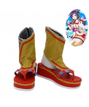 Love Live Tojo Nozomi Cosplay Shoes Women Boots