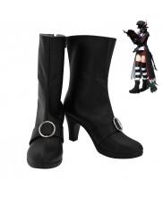 Final Fantasy XIV FF14 BLACK MAGE Plague Bringer Cosplay Shoes Boots Ver 1