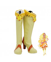 Star Twinkle PreCure Pretty Cure Amamiya Erena Cure Soleil Cosplay Shoes Women Boots