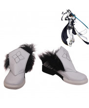 Elsword Raven Furious Blade Cosplay Shoes Men Boots