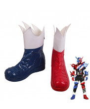 Masked Rider Kamen Rider Build Rabbit Tank Cosplay Shoes Men Boots