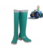 Mario Kart Princess Rosalina Rozetta Cosplay Shoes Women Boots