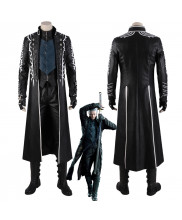 Devil May Cry V DMC 5 Vergil Cosplay Costume Coat Outfit Version 1