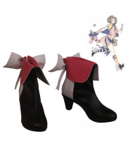 My Hero Academia Ochako Uraraka Cosplay Shoes Boots High Heel