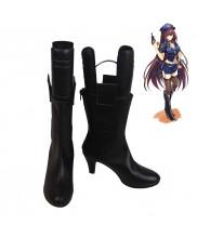 Fate EXTRA FGO Kishinami Hakuno Kaminaka Shimo Cosplay Shoes Women Boots