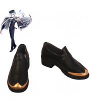 Touken Ranbu Online Hakusan Yoshimitsu Cosplay Shoes Men Boots