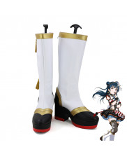 Lovelive!Sunshine!!Aqours Tsushima Yoshiko Cosplay Shoes Women Boots