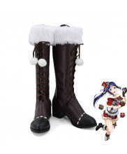 Lovelive!Sunshine!!Aqours Matsuura Kanan Christmas Xmas Cosplay Shoes Women Boots