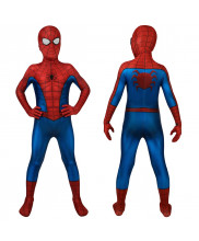 Spider-Man PS4 Costume Cosplay Classic Suit Kids Peter Parker 3D Printed