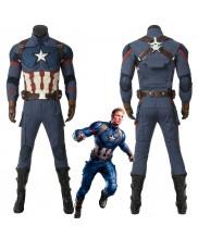 Avengers Endgame Steve Rogers Captain America Cosplay Costume