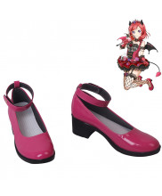 Love Live Nishikino Maki Little Devil Cosplay Shoes Women Boots