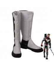 Avengers Endgame Quantum Realm Cosplay Shoes Boots White Version