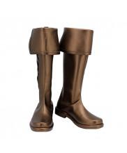Granblue Fantasy GBF Elmott Shoes Cosplay Men Boots