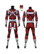 Black Widow Red Guardian Costume Cosplay Suit 3D Printed Adult Outfit