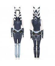 Star Wars The Clone Wars Ahsoka Tano Costume Cosplay Suit Women's Outfits