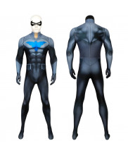 Nightwing Suit Richard Grayson Cosplay Costume Ver 2