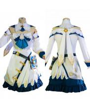 Genshin Impact Barbara Costume Cosplay Dress