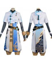 Genshin Impact Chongyun Costume Cosplay Suit