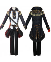 Genshin Impact Diluc Costume Cosplay Suit