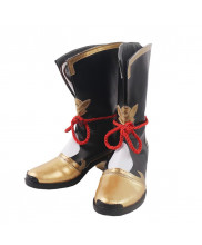 Genshin Impact Xiangling Shoes Cosplay Women Boots