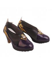 Genshin Impact Keqing Shoes Cosplay Women Boots