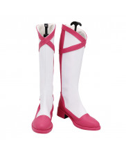One Piece Poison Pink Shoes Cosplay Vinsmoke Reiju Women Boots