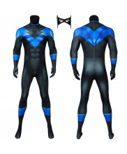 Nightwing Costume Cosplay Suit Richard Grayson Batman Under the Red Hood 3D Printed Outfit