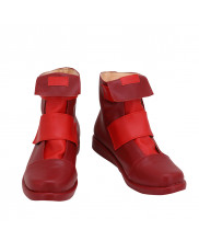 My Hero Academia Eijiro Kirishima Shoes Cosplay Red Boots