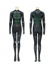 Black Widow Costume Cosplay Suit Natasha Romanoff Avengers Infinity War 3D Printed Women's Outfit