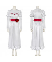 Annabelle Costume Cosplay Dress Halloween Outfit Ver.1