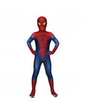 The Amazing Spider-Man Costume Cosplay Suit Kids Peter Parker 3D Printed Outfit