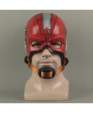 Red Guardian Helmet Prop Cosplay Replica Mask Black Widow