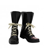 Joker Shoes Cosplay Suicide Squad Men Boots